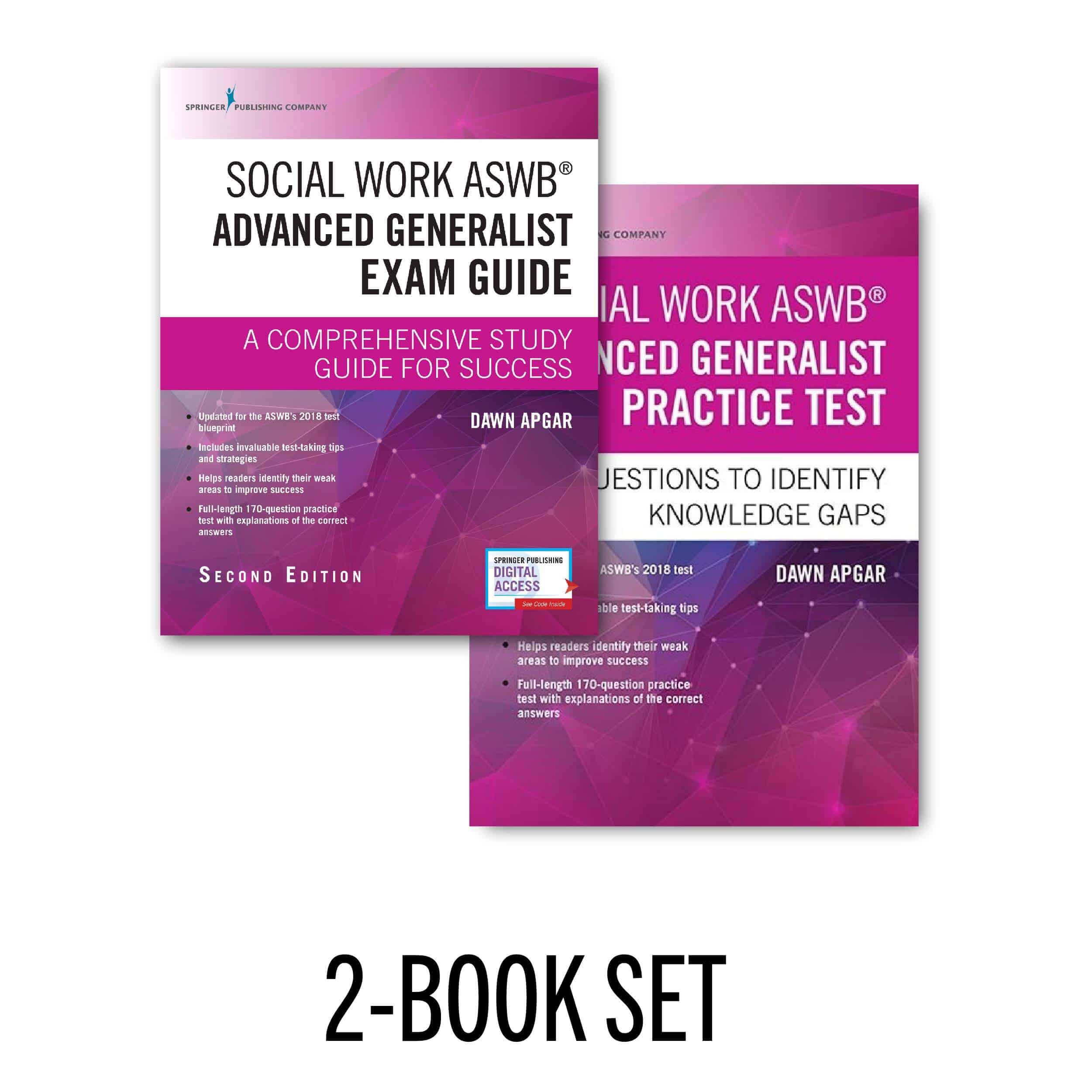 An image of the Social Work ASWB Advanced Generalist Exam Guide and Practice Test