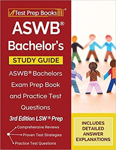 An Image of ASWB Bachelors Exam Prep Book and Practice Test Questions