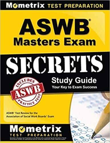 An image of ASWB Masters Exam Secrets Study Guide