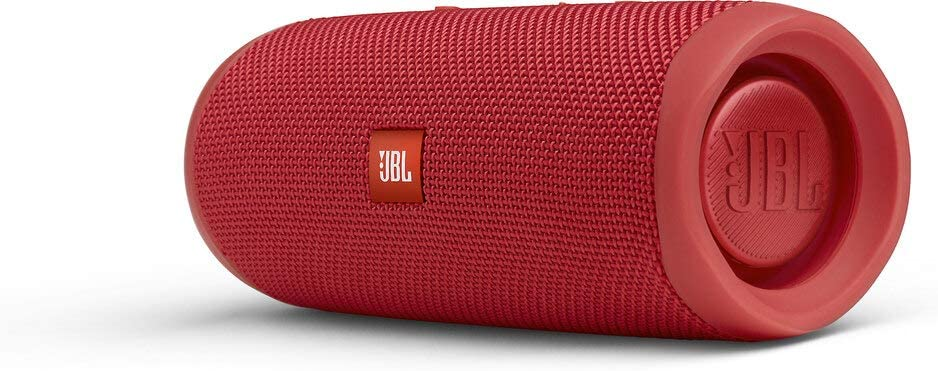 Image of a red JBL FLIP 5 - Waterproof Portable Bluetooth Speaker
