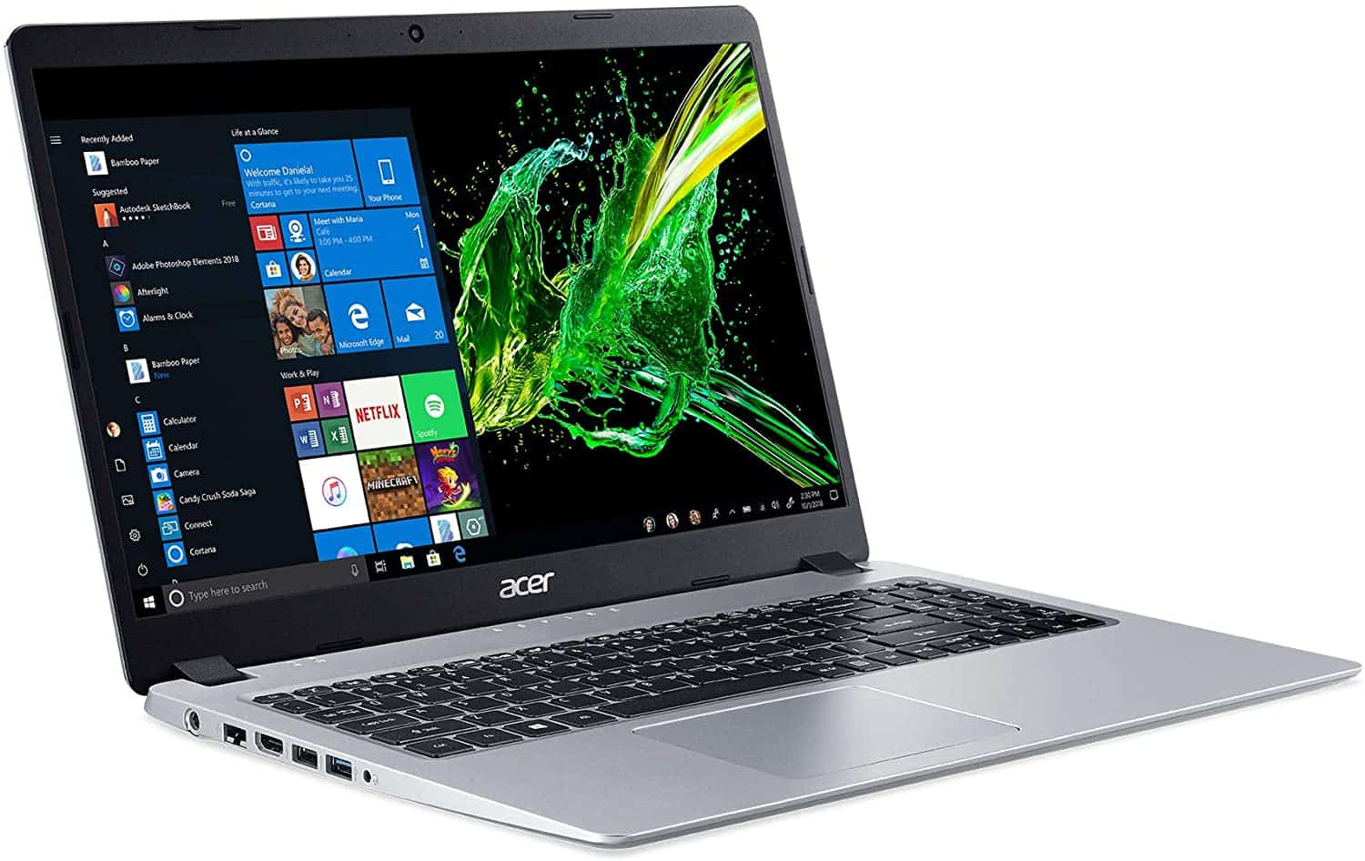 Image of Acer Aspire recommended as best laptop for medical school