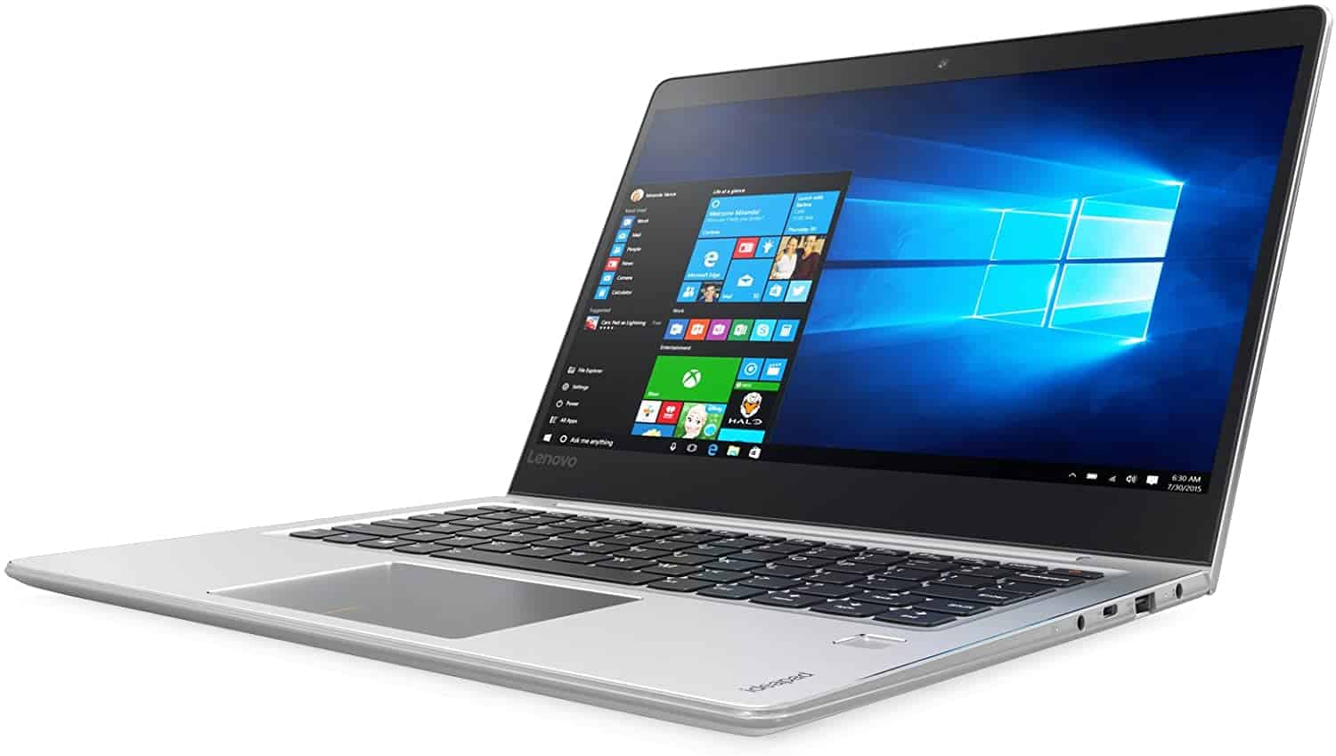 Image of a Lenovo Ideapad recommended as best laptop for medical school