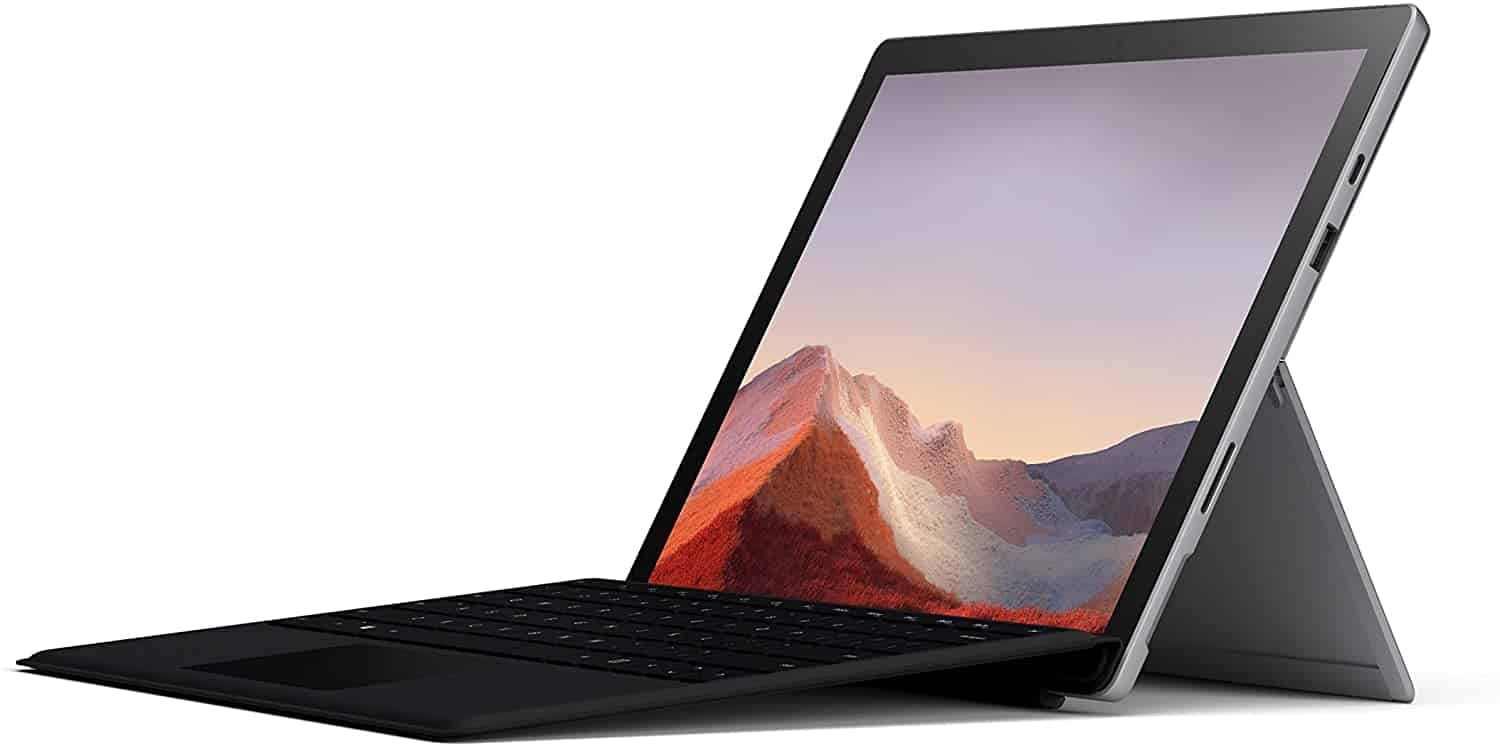 Image of Microsoft Surface Pro 7 recommended as best laptop for medical school